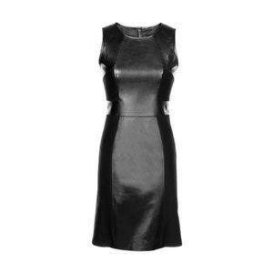RUSDAK | Real Leather Bodycon Dress